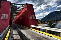 Red Bridge, Keremeos Bridge Builder, Ancient Romans, British Columbia, Bridges, This Is Us, Around The Worlds, Canada, Backyard, City