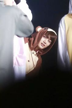 Cutie!!! :3 #Jongin