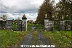 Abandoned Ireland Eyrecourt Castle, Co. Empty, Abandoned, Celtic, Ireland, Sidewalk, Castle, Country Roads, Places, Ancestry