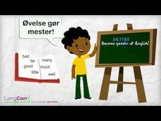 Adjektiver: Uregelmæssige tillægsord - YouTube