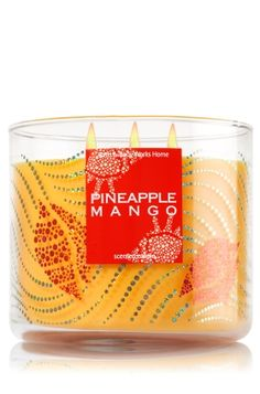 Pineapple Mango - 3-Wick Candle - Bath & Body Works - The Perfect 3-Wick Candle!