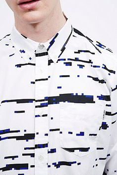 Carhartt Allen Distortion Print Shirt - Urban Outfitters