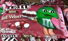 SPOTTED ON SHELVES - Milk Chocolate Red Velvet M&M's