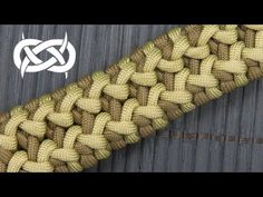 How to make a Wide Side Step Paracord Bracelet - YouTube