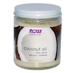"ORGANIC COCONUT OIL - The oil absorbs quickly, and when it does it penetrates the skin and delivers real hydration. Typical moisturizers contain water, and when that dries, the skin also becomes dry again, but not with coconut oil. It also helps strengthen the underlying tissues and helps remove excessive dead cells on the skin's surface."" - #InStyle"