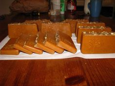 Cube, Projects To Try, Natural Soaps, Homemade, Honey, Home Made, Hand Made