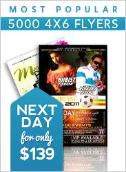Crazy deal on 4x6 flyers