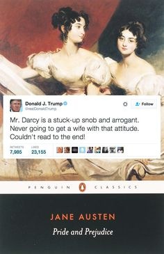 If Donald Trump Reviewed Literary Classics