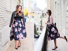 A virágmintás szoknya időtálló a divatban, de minden évben egy picit másképp viseljük.