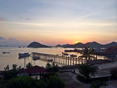 Sunset in Labuan Bajo  #sunset #flores #indonesia