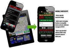 CitiTrends Mobile Microsite Diagram