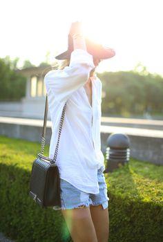 summer uniform // Happily Grey