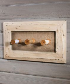 Another great find on #zulily! Vintage-Inspired Peg Rack by Timeless by Design #zulilyfinds