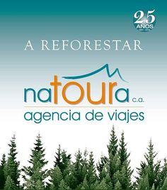 El 30 de mayo NATOURA cumplirá 25 años  y lo celebrará sembrando árboles nativos en el bosque Los Chorros de Milla  que fue arrasado por un incendio en marzo.  Quienes deseen donar arbolitos  (sólo 500Bs c/u) pueden llamar al teléfono 0274-2524216. Nosotros ya contribuimos con unas decenas y estamos .