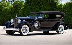 1934 Packard Twelve 1107 Seven-Passenger Touring - (Packard Motor Car Company Detroit, Michigan 1899-1958)
