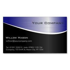 Custom High Quality Logo Engraved Silver Background Stainless Steel Metal Business Cards Calendars, Planners & Cards