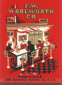 F.W. Woolworth Co.  Had one in downtown Tuscaloosa and when we went shopping, Daddy would always take us to lunch at the lunch counter