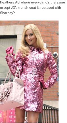 los mejores looks de sharpay evans en high school musical High School Musical, Pink Fashion, Fashion Outfits, Look Rose, Ashley Tisdale, Legally Blonde, Everything Pink, 2000s Fashion, Pink Jacket