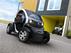 Renault Twizy. Definitely golf cart material.