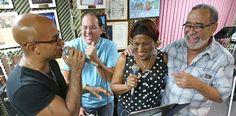Andy Montañez, Michael Stuart arrancan filmación de Especial Musical | A Son De Salsa