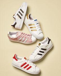 adidas cuoio basso alto delle scarpe da ginnastica con strisce 1