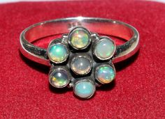 92.5 Sterling Silver Natural Multi Color Play by gemsnjewelryworld