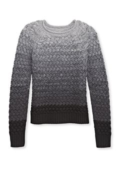 Gray sweater. Any Shade of Gray The color can be found all over this season, and it pairs nicely with pastels, brights and neutrals. Try mixing shades and textures in the same outfit for an ultrasophisticated look.