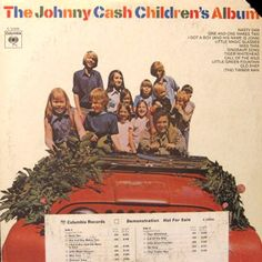 Johnny Cash The Children's Album – Knick Knack Records