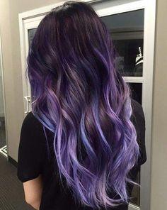 15 Stunning Midnight Blue Hair Colors to See in 2019 - Style My Hairs Cute Hair Colors, Pretty Hair Color, Hair Dye Colors, Aesthetic Hair, Grunge Hair, Ombre Hair, Neon Hair, Hair Highlights, Gorgeous Hair