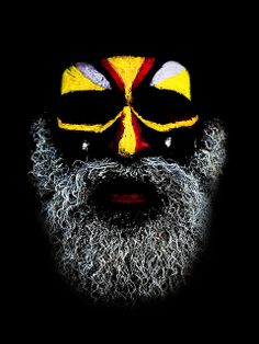 Mount Hagen Festival, Papua New Guinea by Eric Lafforgue - Art and design inspiration from around the world - CreativeRoots Cara Tribal, Tribal Art, Eric Lafforgue, We Are The World, People Of The World, Pintura Tribal, Tribal Face Paints, Photoshop Art, Art Africain