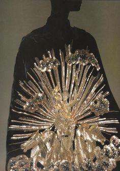 elsa schiaparelli silk cape, 1938