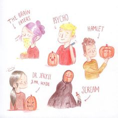 Halloween is over, but we'll always have rotten pumpkins 🎃💨P.S: do you recognise all those movies?