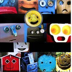 found faces - fun idea!