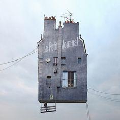 Cinema X Flying Houses (Laurent Chéhère) 1