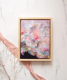 Esther Gemser Art | Limited Edition Collection: Pastel Dream (18x24) Kunst Nude Tinten Kleuren Pink Abstract, Abstract Art, Original Art, Pastel, Nude, Canvas, Painting, Collection, Decor