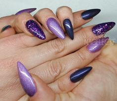 Die 45 Besten Bilder Von Lila Nageldesign Gorgeous Nails Nail