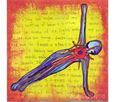 Yoga Art, Capturing Sunlight by Eliza Tobin