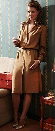 Платье-рубашка: выкройка и инструкция, как сшить. Размеры 36-44.