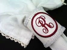 Monogram Napkin Rings Reserved Listing for MR by HauteInteriorsLLC, $88.00