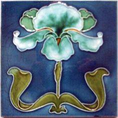 Azulejo art nouveau
