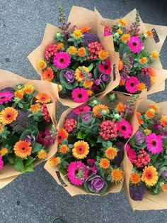 Beautiful bunches of flowers My Flower, Wild Flowers, Beautiful Flowers, Cactus Flower, Exotic Flowers, Purple Flowers, Bright Flowers, Summer Flowers, Fresh Flowers