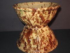 Vintage+Pottery+Bowls+Drip+Glazed+Pottery+by+VintageCastaways