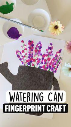 Toddler Arts And Crafts, Summer Crafts For Kids, Art For Kids, Summer Crafts For Preschoolers, Crafts For Toddlers, Garden Crafts For Kids, Rainy Day Crafts, K Crafts, Daycare Crafts