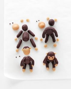 Monkey toppers tutorial.