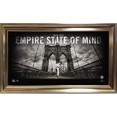 Mariano Rivera Empire State of Mind 14x24 Photo (Framed-14x24 7523)