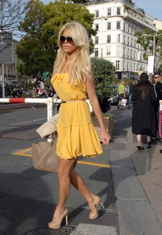 Victoria Silvstedt Photo - Victoria Silvstedt Strolls Around the Cannes Film Fest