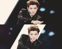 That eye contact with Luhan >♡
