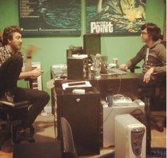 Rhett and Link working