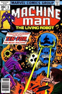 Machine Man #3, Ten-For