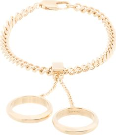 Chloé Gold Pendant Rings Carly Bracelet on shopstyle.com